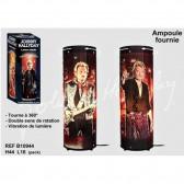 Rotierende Johnny Hallyday Costume schwarz Lampe