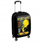 Modello di grandi dimensioni valigia Marilyn Monroe Kiss