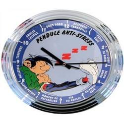 Horloge Gaston Lagaffe Anti Stress