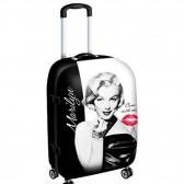 Valise Marilyn Monroe Kiss Petit modèle