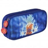 Trousse rectangulaire Dragon Ball Super Goku Bleu 22 CM