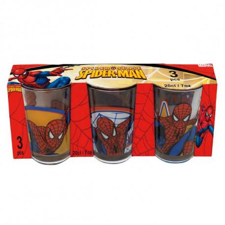 Juego de 3 lentes Spiderman