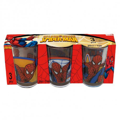 Set of 3 lenses Spiderman