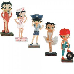 Lot of 10 figurines Betty boop Betty Boop Show Collection - series (1-11)