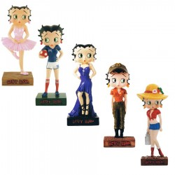 Lot de 10 figurines Betty Boop Collection Betty Boop Show - Série (12-21)