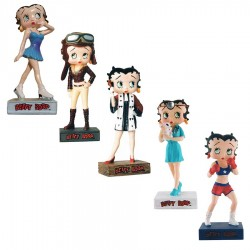 Lot de 10 figurines Betty Boop Collection Betty Boop Show - Série (32-41)