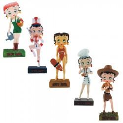Heleboel 10 beeldjes Betty Boop Betty Boop Toon Collection - serie (22-31)