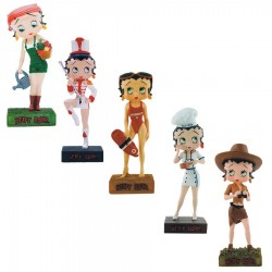 Lot of 10 figurines Betty Boop Betty Boop show Collection - series (22-31)