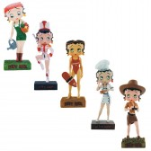 Lot of 10 Betty Boop collectible figures - figurine (22-31)