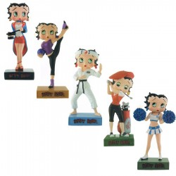 Lot de 10 figurines Betty Boop Collection Betty Boop Show - Série (42-51)