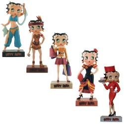 Lot de 9 figurines Betty Boop Collection Betty Boop Show - Série (52-60)