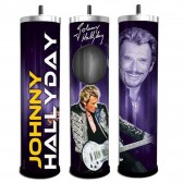 Cenicero de giro de micrófono de Johnny Hallyday