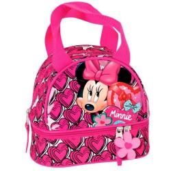 Sac goûter Minnie Heart - sac déjeuner