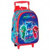 Rolling Maternal Backpack PJ Masks 28 CM Premium Trolley