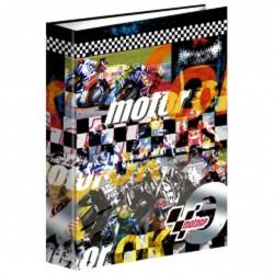 Classeur A4 Moto GP Clinch 34 CM