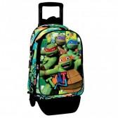 Rolling Backpack Ninja Turtle 42 CM - Premium Trolley