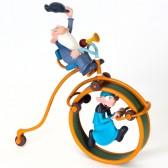 Figurine Leonard Le Disciple et le Bicycle 25 CM