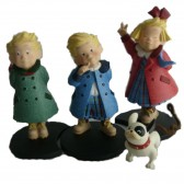 Figurines Les Triplés 13 CM