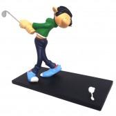 Figurine Gaston golfeur 15 CM