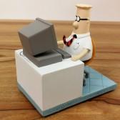Figurine Dilbert Computer 9 CM