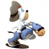 Statuette Droopy horseback 31 CM