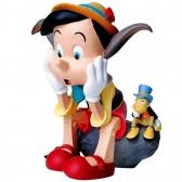 Figurine Pinocchio et Jiminy 14 CM
