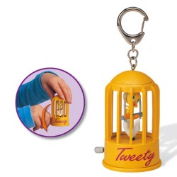 Tweety and Sylvester 8 CM key ring