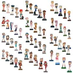 Colección de figuras de Betty Boop Show 59