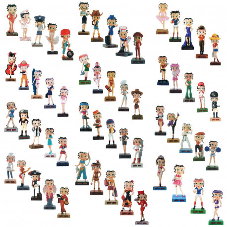 Collection N°38 Figurine Betty Boop Ouvreuse de cinéma
