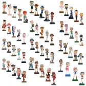 Collection des 59 figurines Betty Boop Show