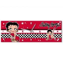 Pendule rectangle Betty Boop Robe Rouge 57 CM