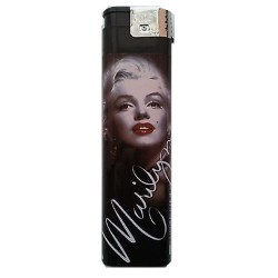 Marilyn Monroe Feuerzeug schwarz XXL