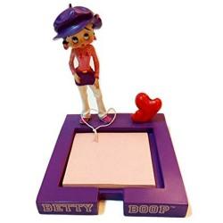Betty Boop Figura Bloque Nota Mauve