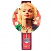 Pendule Marilyn Monroe avec balancier