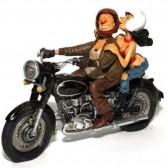 Spannende Motorrad Guillermo Forchino tour