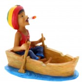 Figurine Rasta Barque