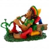 Rasta boat figurine