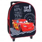 Sac à roulettes maternelle Cars Disney 3D 30 CM - Cartable