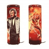 Lampe tournante Johnny Hallyday micro