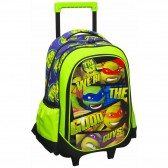 Cartable à roulettes Tortue Ninja 43 CM Trolley - Good Guys