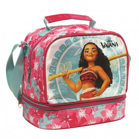 Sac goûter Vaiana isotherme - sac déjeuner