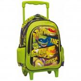 Rollen Schulranzen Ninja turtles 31 CM - Trolley