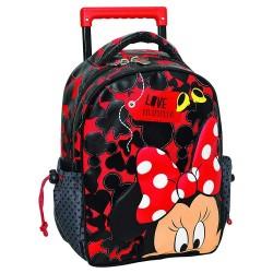 Rolling Mickey 3D inheemse koffer 31 CM - satchel tas