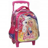 Rolling trolley Barbie fee 31 CM - satchel tas