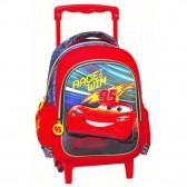 Sac à roulettes maternelle Cars Win 3D 31 CM