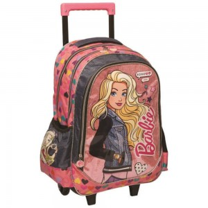 Sac à roulettes Barbie XOXO 43 CM Trolley