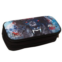 Trousse ovale No Fear Digital Wolf - 2 Cpt