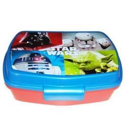 Box snack Star Wars light blue 16 CM