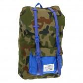 Sac à dos à bretelles Paso Camouflage Foncé 45 CM