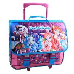 Book bag on wheels Enchantimals 41 CM high end